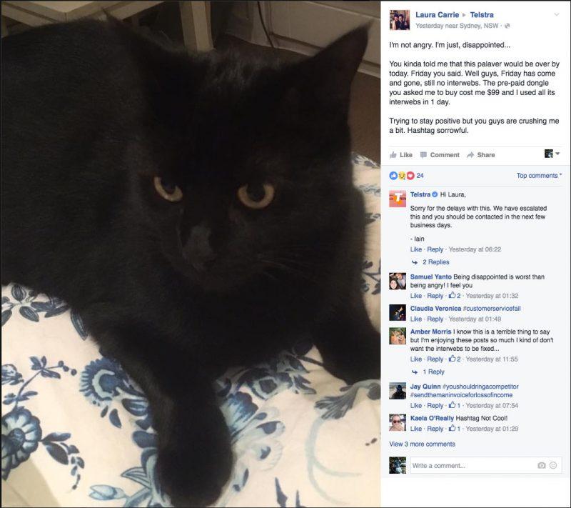 Kitty Smalls Vs Telstra Part 12 - Kitty Smalls is sad