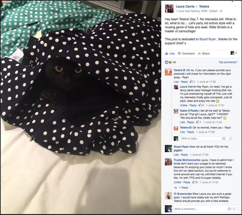 Kitty Smalls Vs Telstra Part 6 - Kitty Smalls has had enough