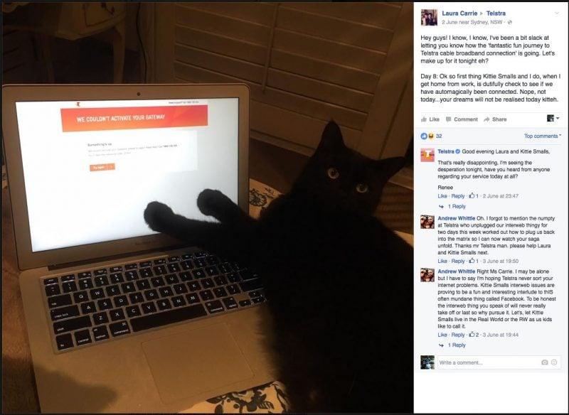 Kitty Smalls Vs Telstra Part 7 - Kitty Smalls just wants no error message