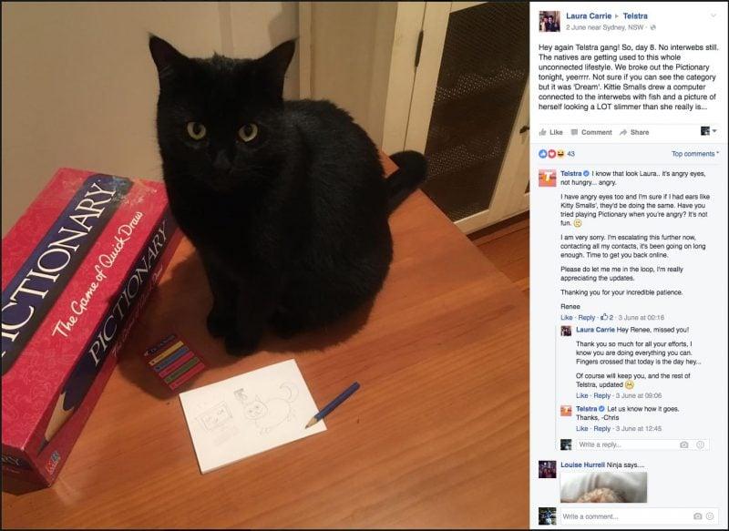 Kitty Smalls Vs Telstra Part 8 - Kitty Smalls resorts to pictionary