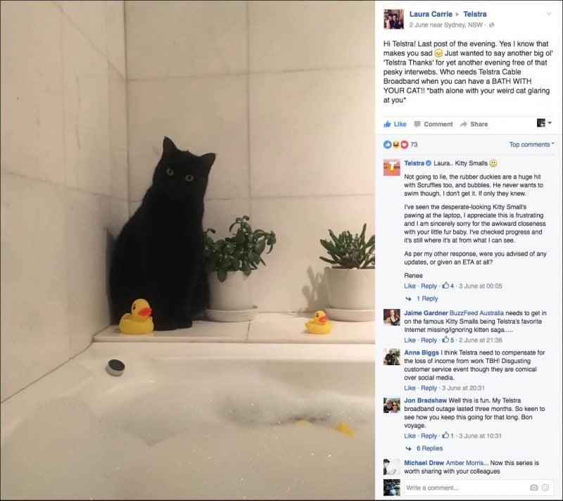 Kitty Smalls Vs Telstra Part 9 - Kitty Smalls stalks Laura