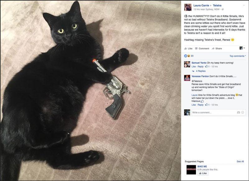 Kitty Smalls Vs Telstra Part 5 - Kitty Smalls has had enough