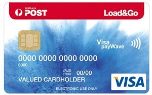 Australia Post Load and Go Prepaid Visa Card